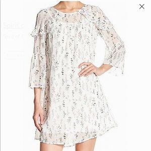 SPIRIT OF GRACE Medium Floral Shift Dress NWT